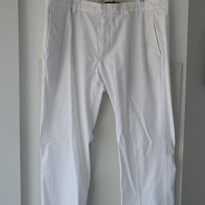 Banana Republic White Aiden Men's Chinos